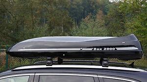 Premium Dachbox Moby Dick 190 SCHWARZ von Mobila stabile Dachbox und Surfbox