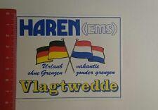 Aufkleber/Sticker: Haren Ems Vlagtwedde (20011712)