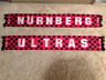 Ultras Seidenschal ULTRAS / NURNBERG - 1. FC Nürnberg