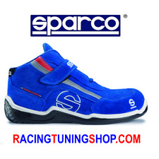 SCARPE ANTINFORTUNISTICA SPARCO RACING H CE EN ISO 20345  S3  TG 46 BLU - SHOES
