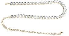 70551fde565 Ceintures en métal bleus chaîne pour femme