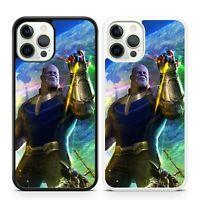 Thanos Marvel Comic Book Superhero Villain Avengers Infinity Phone Case Cover
