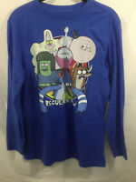 OLD NAVY BOYS LONG SLEEVE COLLECTABILITEES TEE X-LARGE 14-16 THE REGULAR SHOW