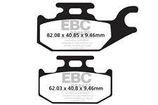 FIT CANNONDALE  Speed/Glamis 440 02>03 EBC REAR ORGANIC BRAKE PADS