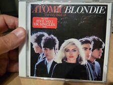 BLONDIE - ATOMIC, BEST OF BLONDIE incl' 5 NUMBER ONE'S -  1998 CD.
