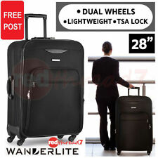 Polyester Travel Suitcases with Wheels/Rolling