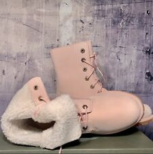Timberland Womens  Authentics Teddy Fleece Fold-Down Size 9M