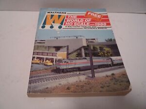 """Walthers """"The World of HO Scale"""" - 1988 Model Trains Catalog & Reference Manual"""