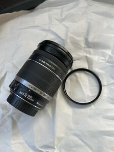 Canon EF-S 18-200mm f/3.5-5.6 IS Zoom Camera Lens + Filter, very good condition