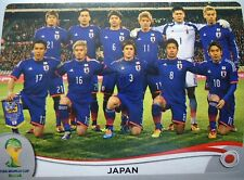 Panini 242 Team JFA Japan FIFA WM 2014 Brasilien