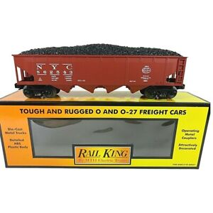 30-7014E MTH New York Central (#862543) Hopper Car w/Coal Load