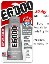Large E6000 Industrial Strength Glue Craft Adhesive 2oz Tube 100% Genuine FP
