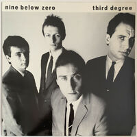 NINE BELOW ZERO THIRD DEGREE LP A&M UK 1982 NEAR MINT ARCHIVE COPY PRO CLEANED