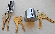 High Security    MEDECO   cylinder  (no pins)  keys,blanks (fit in cylinder)