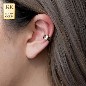 14K YELLOW GOLD Ear climbers earring cuffs gift for her ear cuffs minimal earrings lobe earrings gold jewelry solid gold ear crawlers