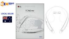 LG Tone Pro HBS770 Bluetooth Wireless Neckband Headphones Headset White