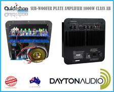 Dayton Audio SPA1000 Plate Subwoofer Amplifier 1000 watts Class AB