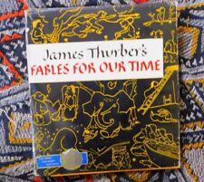 VINTAGE 1940 JAMES THURBER HARD BACK BOOK FABLES FOR OUR TIME W DUST JACKET ILLU