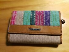 Fossil Canvas and leather Women's wallet