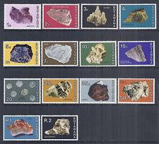 1974 Botswana 114-127, 322-335   Complete Set of 14, Rocks Gems Minerals - MNH*