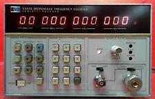 HP - Agilent - Keysight 5343A Frequency Counter, 10 Hz to 26.5 GHz SN:2207A00744