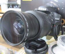 Wide Angle Macro Lens for Nikon d3300 d5300 d5100 d5200 d3200 d60 w/18-55 t mn