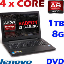 Lenovo 8GB 2.00-2.49GHz PC Notebooks/Laptops