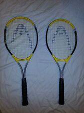 Lot of 2 Head Magnesium 1000 Constant Oversize Tennis Racquets 4 3/8-3 4 1/2-4