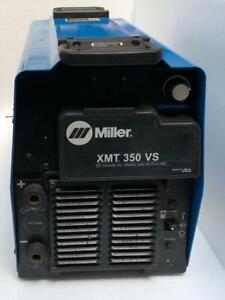 MILLER XMT 350 VS DC INVERTER ARC WELDER WITH AUTO-LINE 208-575V (FOR PARTS) 4