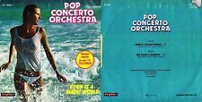 45 GIRI   POP CONCERTO ORCHESTRA - EDEN IS A MAGIC WORLD // SHE WEARS A RAINBOW