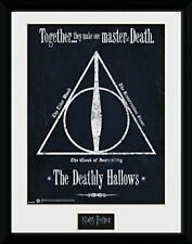 Harry Potter The Deathly Hallows Wizarding World Framed Poster Print 40x30cm