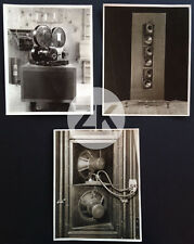 INVENTION CINEMA SONORE Parlant Talking RCA PHOTOPHONE 3 Photos 20/30s