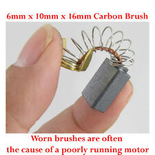 Carbon Brush for Generic Electric Motor 6mm x 10mm x 16mm
