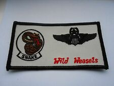 RAF/USAF  wing cloth  patch    snake    wild weasels