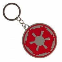 Disney Star Wars AT-AT Pilot Imperial Cog Crest Metal Keychain Hoth Collection