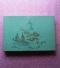 Vintage Sky Line Notes Stationery Floral Design Sheets & Envelopes