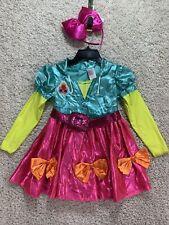 LOL Surprise Neon Costume Medium Girls Top Belt Bow MISMATCHED NO PANTS New K