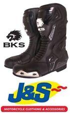 Bottes perforés noirs pour motocyclette
