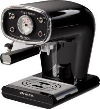 MACCHINA per il caffè espresso Ariete Maker CAFE stile retrò vintage ATOMICA NERO NUOVA