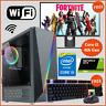 Fast Gaming PC Computer Bundle Intel i5 4th GEN! 8GB 1TB Windows 10 2GB GTX 1650