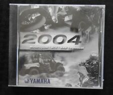 2004 YAMAHA MOTORCYCLE ATV SxS VIRAGO ROAD V STAR  TECHNICAL UPDATE MANUAL DVD