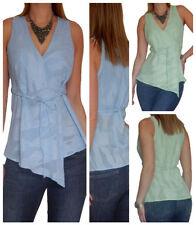 Textured Sleeveless Tops & Blouses for Women