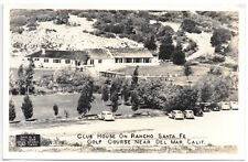 RP Postcard Club House on Ranch Santa Fe Golf Course near Del Mar, CA~104838