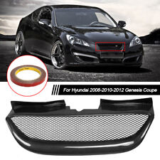 Real Carbon Fiber Front Mesh Grille Grill For Hyundai Genesis Coupe 2008-2012