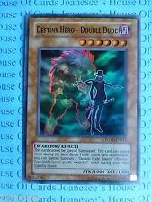 Yu-gi-oh Destiny Hero - Double Dude POTD-EN012 Super Rare Mint New