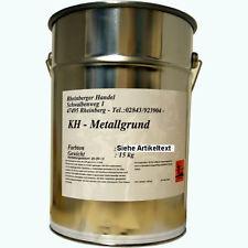 6 x 15 kg Metallgrundierung, Rostschutz Grundierung, Primer, grau, gesamt: 90 kg
