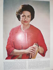 Photo article Mrs Claudia (Lyndon B ) Johnson 1964