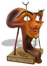 Salvador Dali Soft Self Portrait with Fried Bacon Art Sculpture Figure