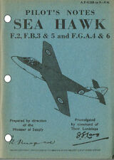 PILOT'S NOTES: SEA HAWK/ROYAL NAVY JET FIGHTER 103pps +FREE 2-10 PAGE INFO PACK