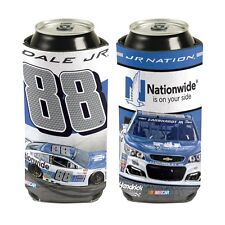 Dale Earnhardt Jr 2017 Wincraft #88 Nationwide Insurance 16oz Can Coolie Free